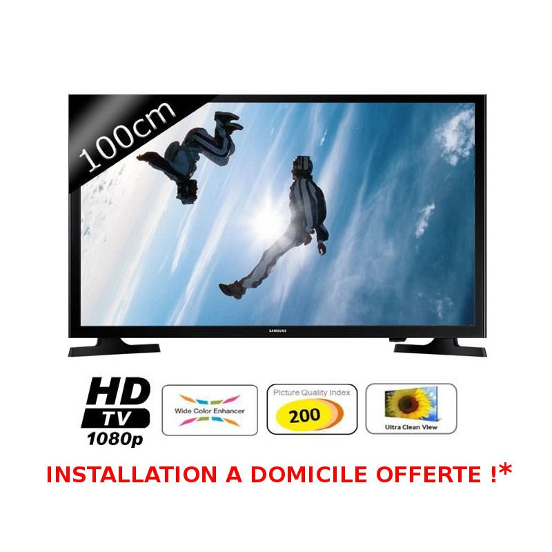 OFFRE SPECIALE - SAMSUNG TV LED Full HD 101cm (40\